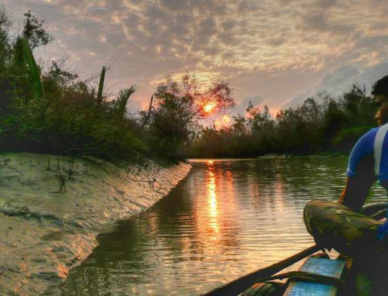 Dawn near the Bay of Bengal, Sundarbans national park. Bangladesh. hdr.| © b k /Flickr