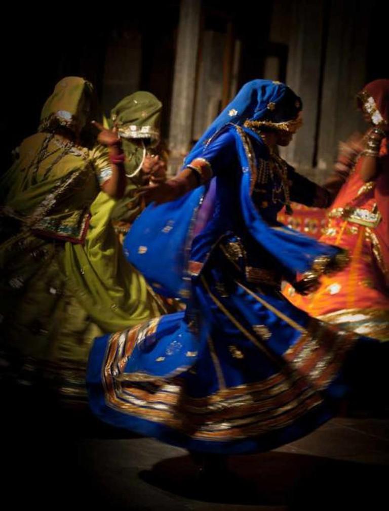 Rajasthani dance, Bagore-ki-Haveli, Udaipur, Rajasthan, India | © Julien Lagarde /Flickr