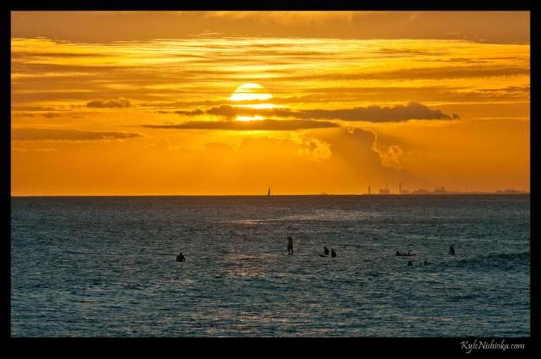 Ala Moana Sunset l © Kyle Nishioka/Flickr