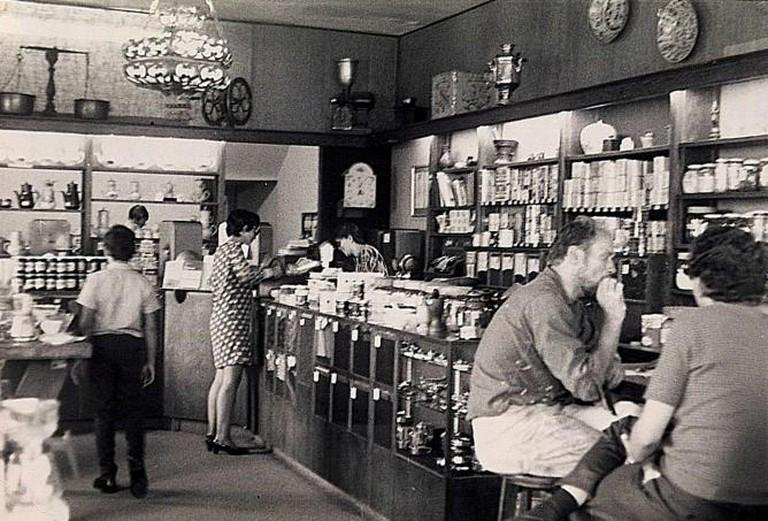 Peet's Coffee in 1969   ©CarolDandelion234/flickr