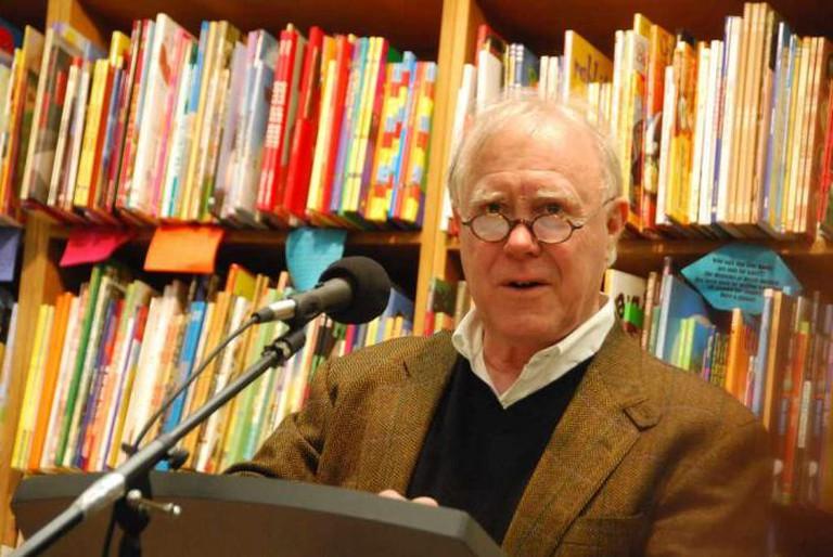Robert Hass at Booksmith | © Steve Rhodes/flickr