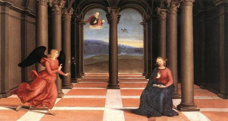 Raphael's 'The Annunciation'