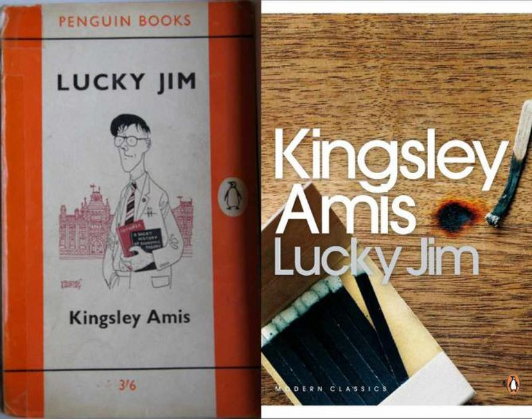 Lucky Jim Book Cover; Kingsley Amis | © crowbot/Flickr; Wolf Gang/Flickr
