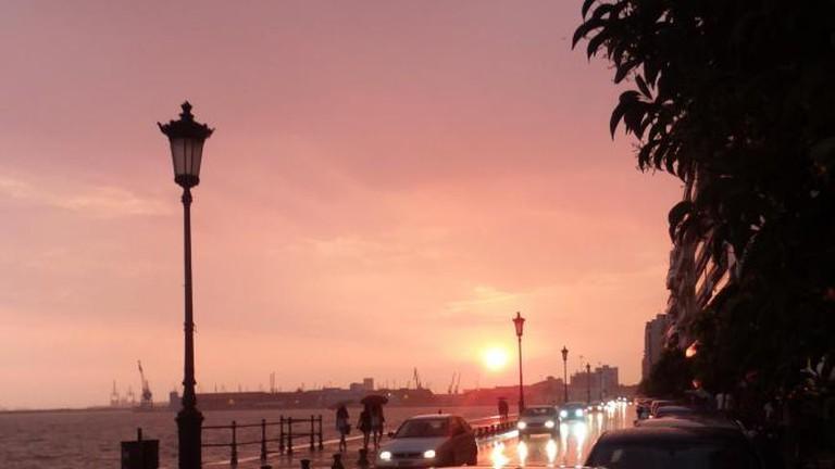 Thessaloniki at sunset   © afilitos/Flickr