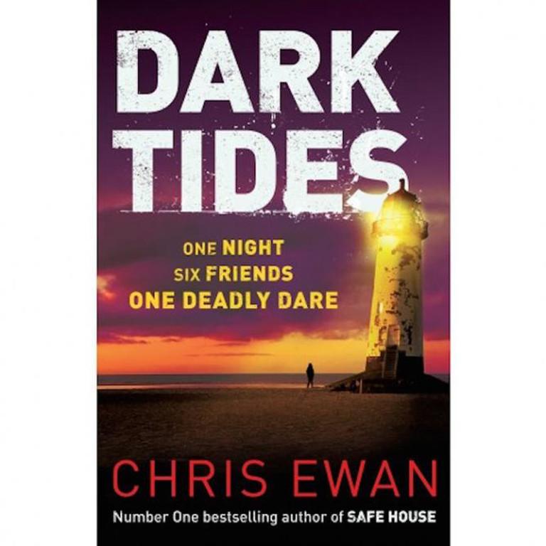 Dark Tides book cover by Chris Ewan