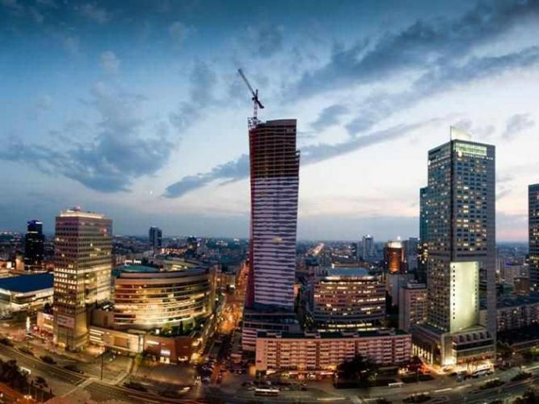 InterContinental and other skyscrapers in Warsaw's center | © Mighty Travels/Flickr