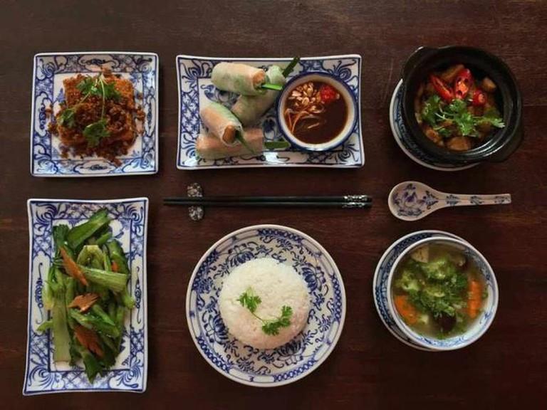Mon Chay/Vegetarian Dishes | Courtesy BLOOM Saigon Restaurant