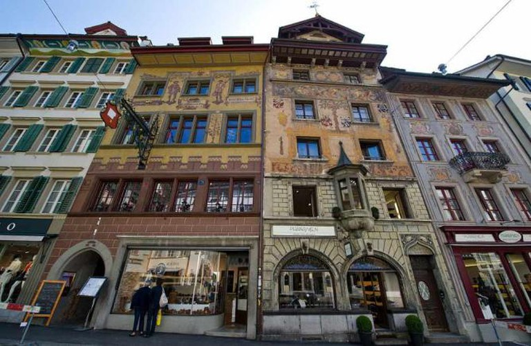 Old buildings at Weinmarkt, Lucerne | © Leiju/Wikimedia Commons