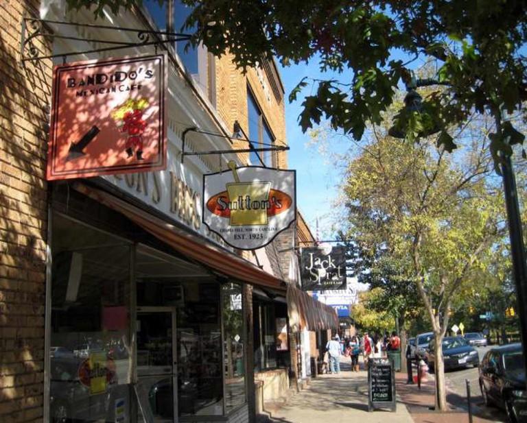 Franklin Street Chapel Hill Xa9 Yawper Flickr