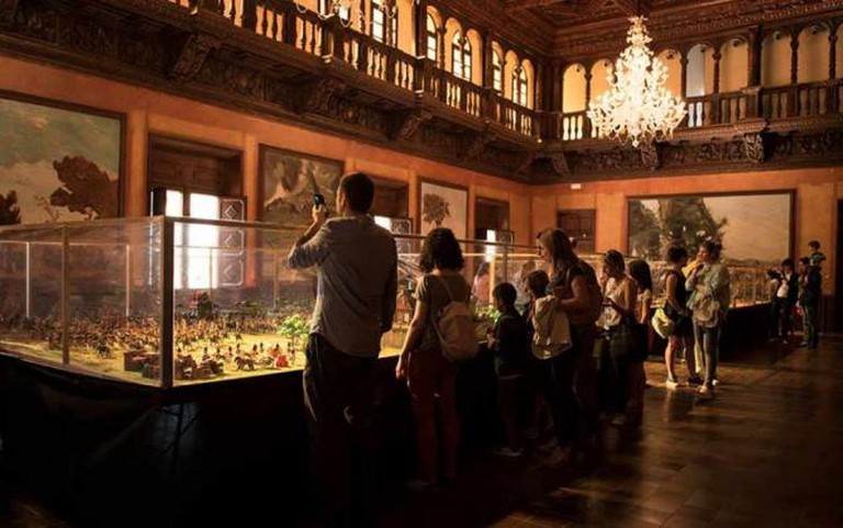 Exhibition space | © Courtesy of Poble Espanyol