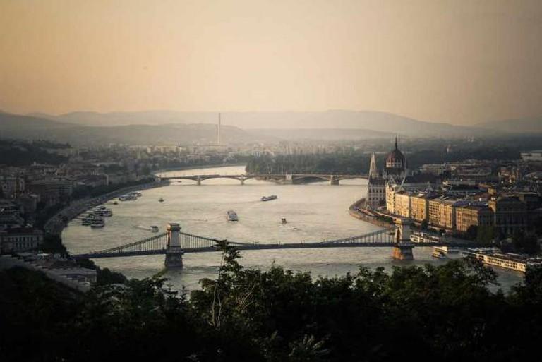 View from Gellért Hill | © Jason Halsall/Wikicommons