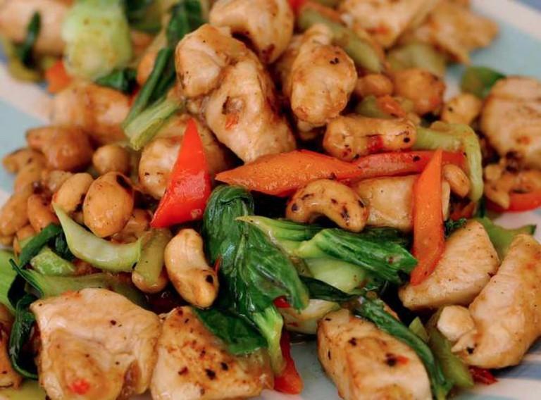 Chicken Cashews
