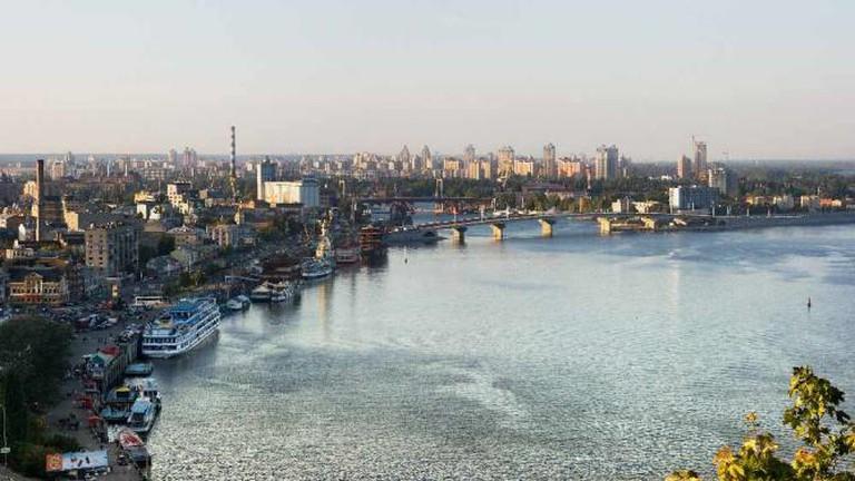 Dnipro river in Kiev | © Dmitry A. Mottl/Wikicommons