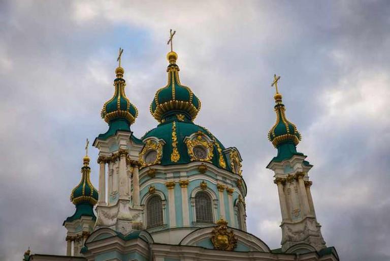 St Andrew's Church in Podil | © Konstantin Brizhnichenko/Wikicommons