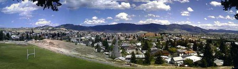 Panorama view of Butte, Montana | © Montanabw/WikiCommons