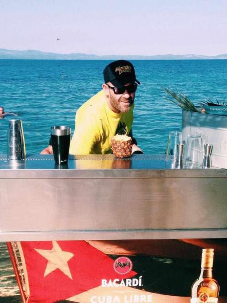 Navagos Beach Bar | Courtesy of Navagos Beach Bar