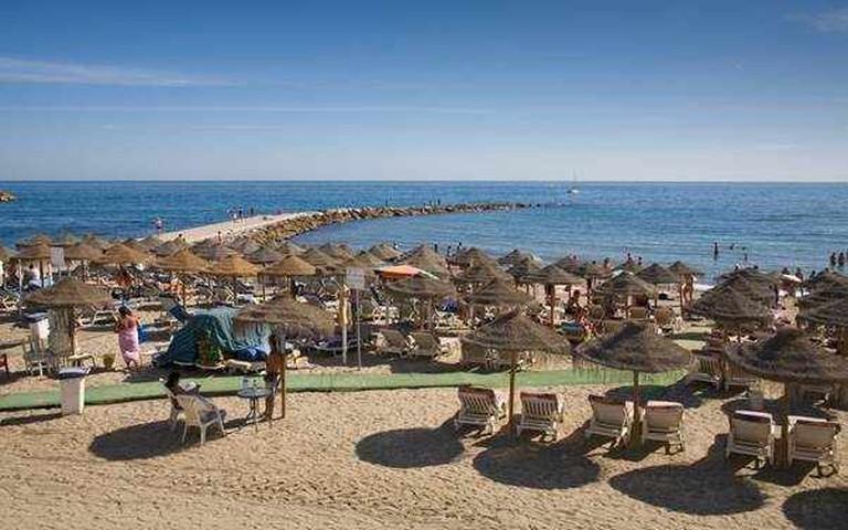 Playa de San Pedro de Alántara