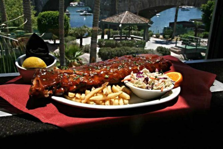 Rack of Ribs | Courtesy of Barley Bros Restaurant and Brewery
