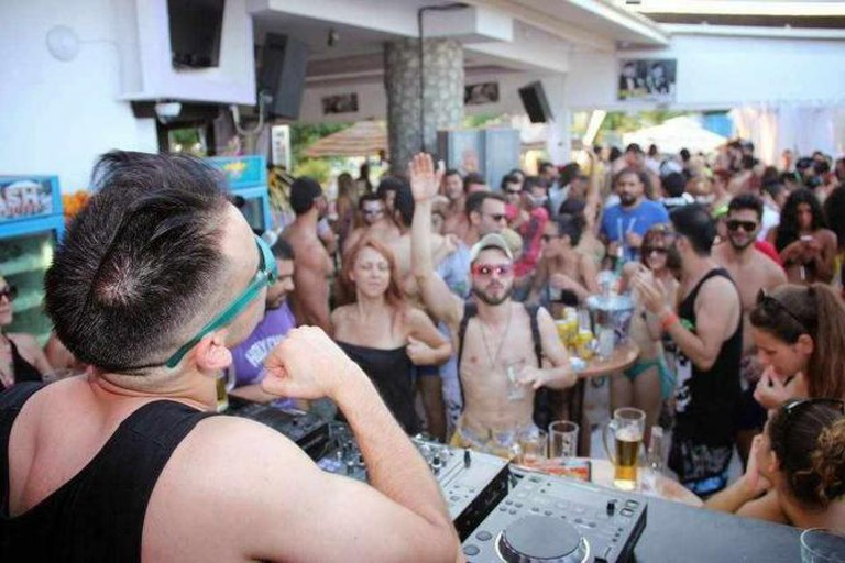 Beach party at Chaplins | Courtesy of Chaplins Beach Bar