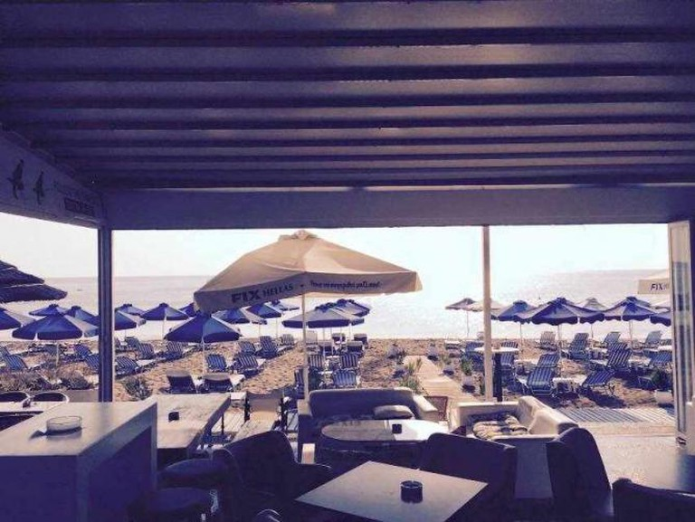 Chaplins view of the beach | Courtesy of Chaplins Beach Bar