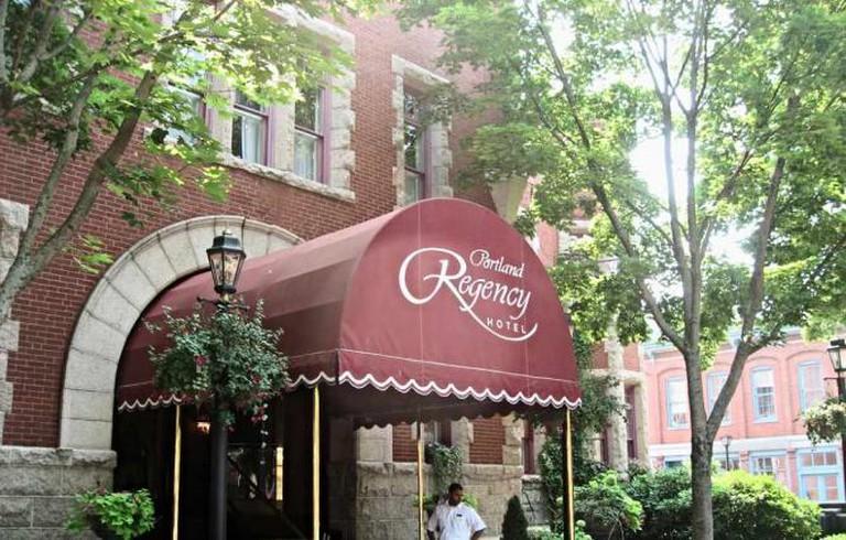 Regency Hotel in downtown Portland