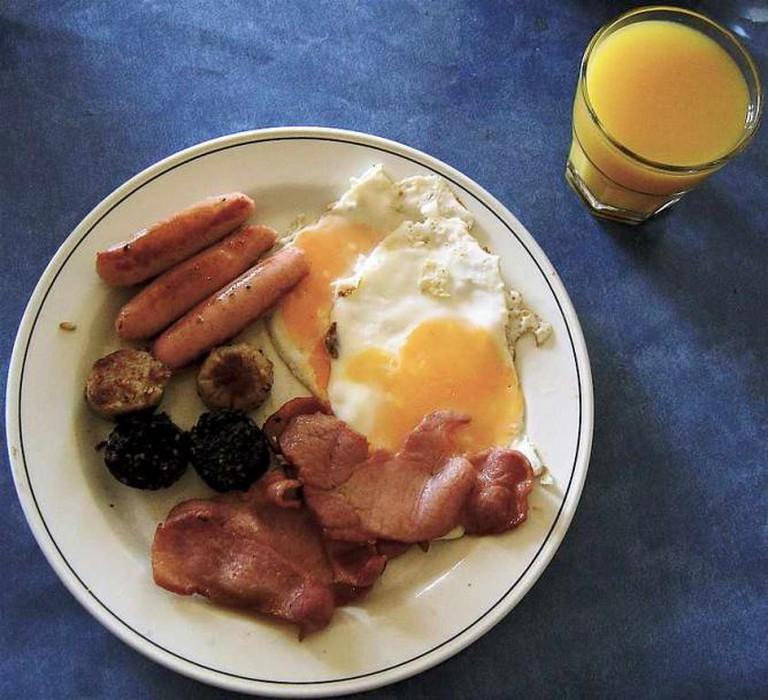 Irish breakfast | ©Ludraman/WikiCommons
