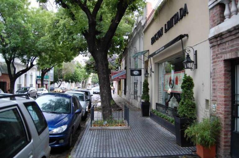A shopping street in Las Cañitas Ⓒ Josiah Mackenzie/Flickr