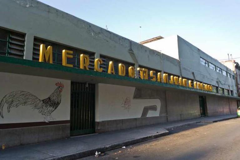 Mercado de San Juan exterior