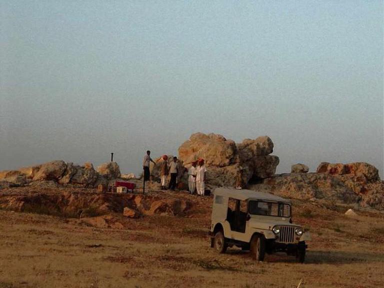 In the village of Chandelao Garh