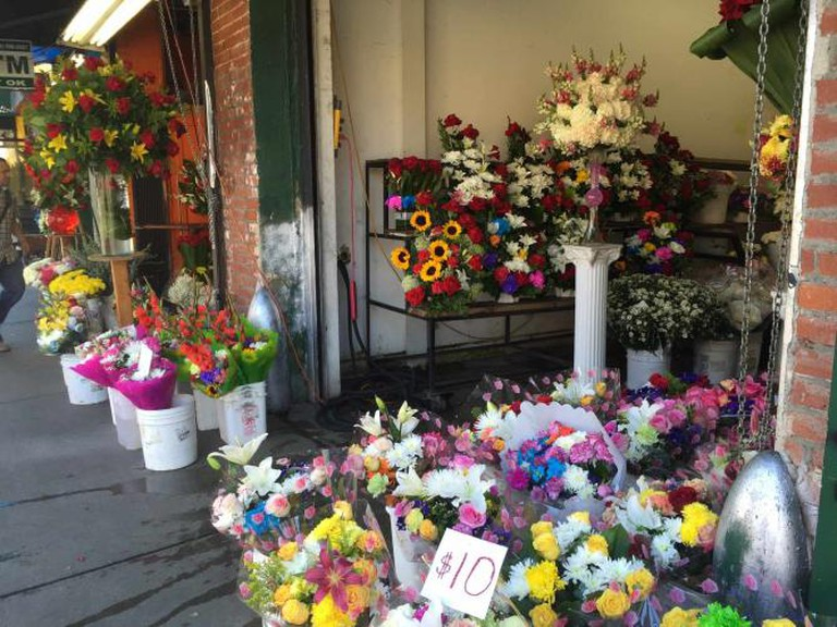Downtown LA Flower Market | © Jasmine Ashoori