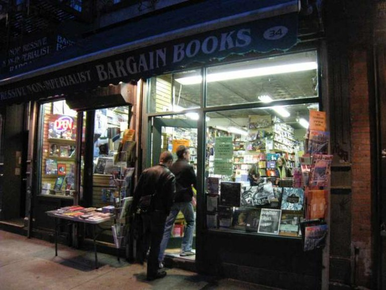 Unoppressive Non-Imperialist Bargain Books with Two Guys Going In | © Steve Isaacs/Flickr
