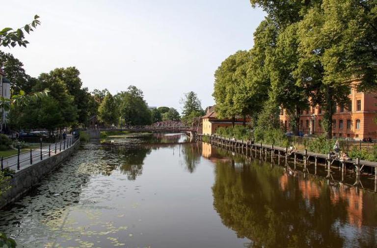 Fyris river in Uppsala