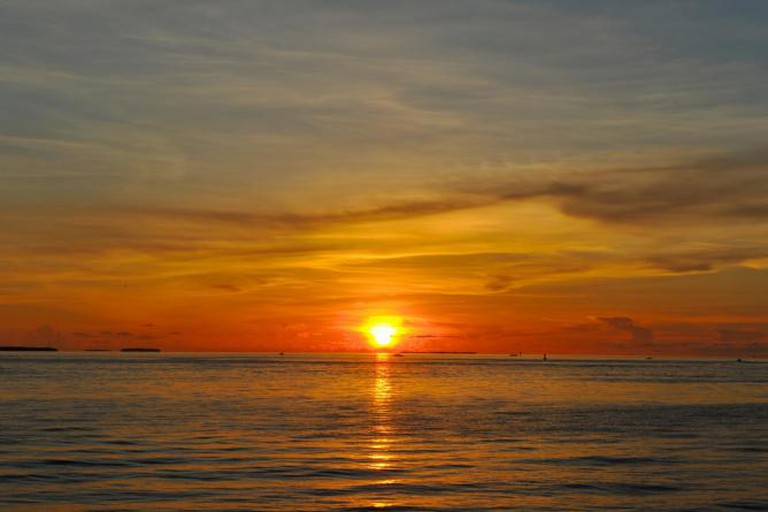 View of Key West sunset from Mallory Square | © David Lindsey