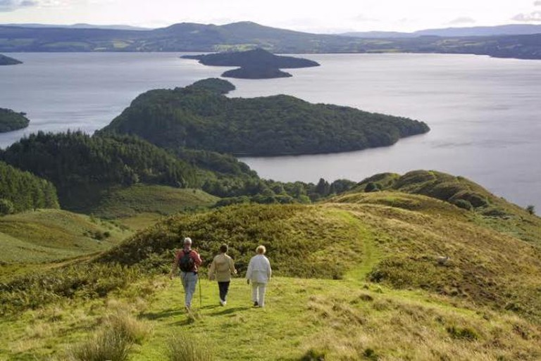 Conic Hill, West Highland Way | © Loch Lomond & The Trossachs National Park Authority