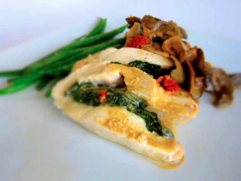 Pollo saltimbocca