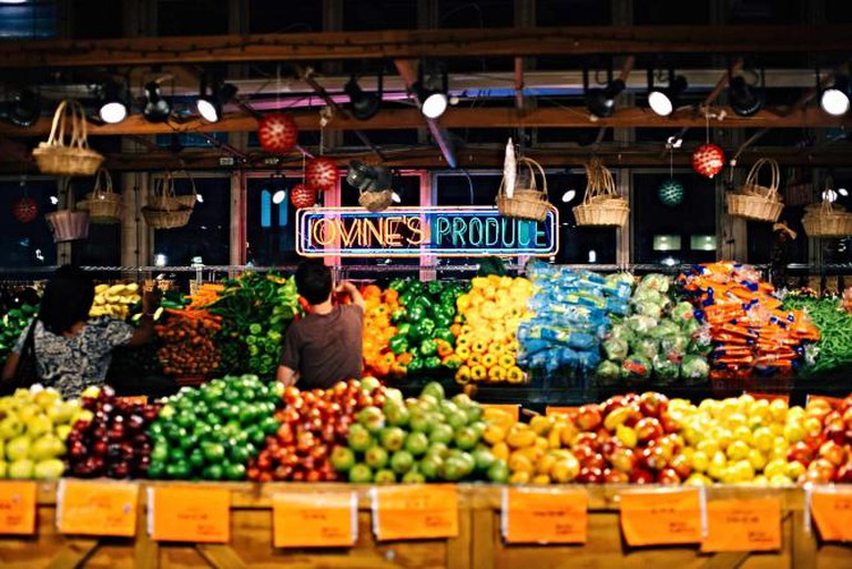 Iovine's Produce at Reading Terminal Market.