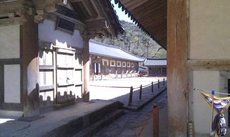 Haeinsa's ingeniously designed Janggyeonggak © Hal Swindall