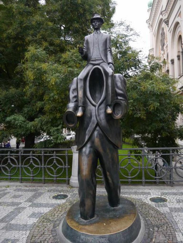 The Franz Kafka Monument