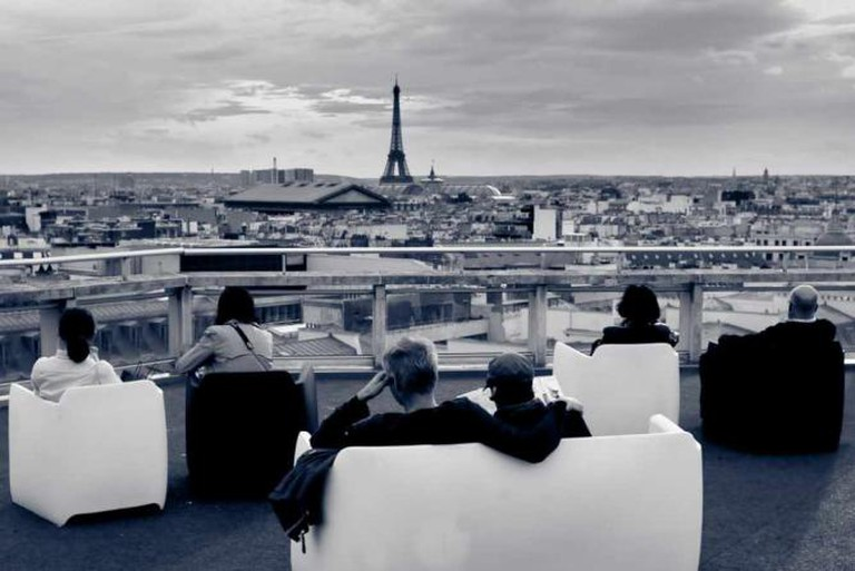 Rooftop Terrace, Galleries Lafayette | ©FlorianPlag/WikiCommons
