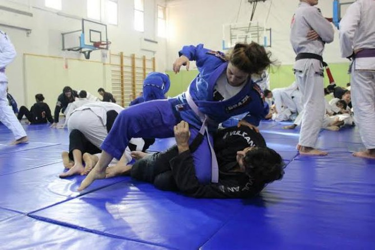 Sami and Noa mid roll | © ZestyUrbanJiuJitsu