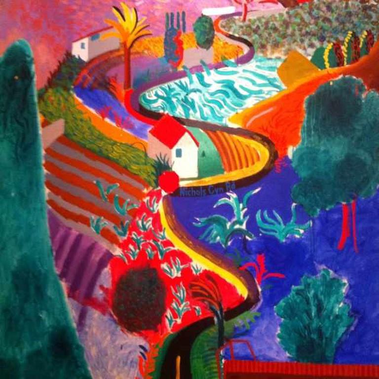 Nichols Canyon (1980) at The Royal Academy of Arts.