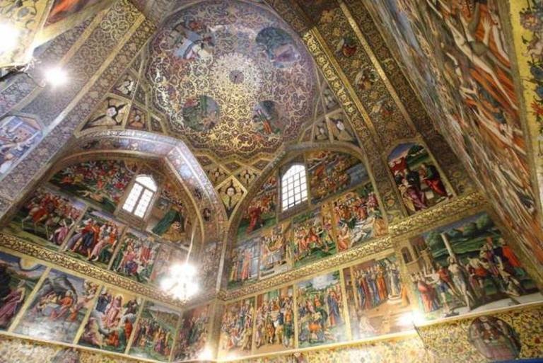 Vank Cathedral interior| ©Thomas/Wikicommons