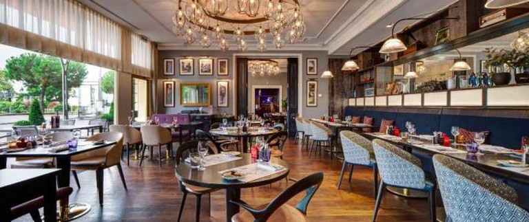Montreux Jazz Café | Courtesy of Fairmont Le Montreux Palace