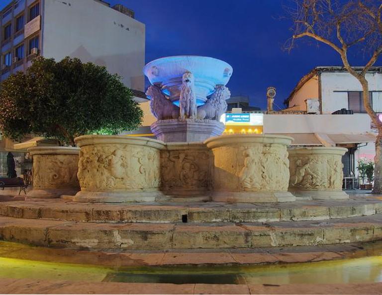 Morosini fountain, Heraklion   © C messier/WikiCommons