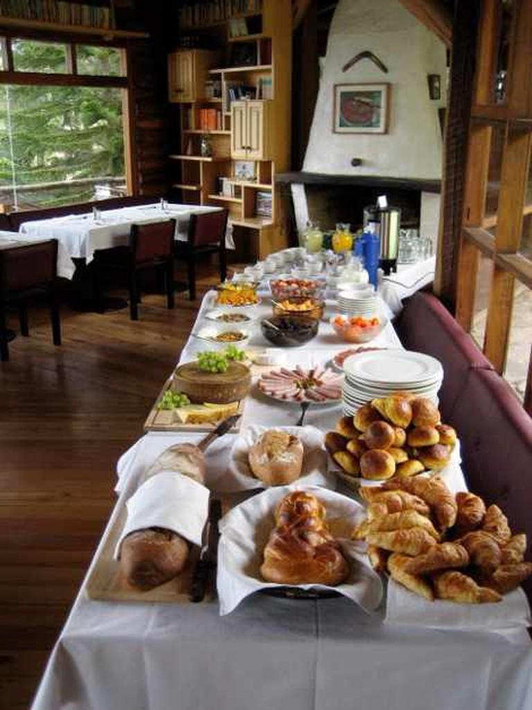 Buffet Breakfast   Courtesy of La Casa de Rafa
