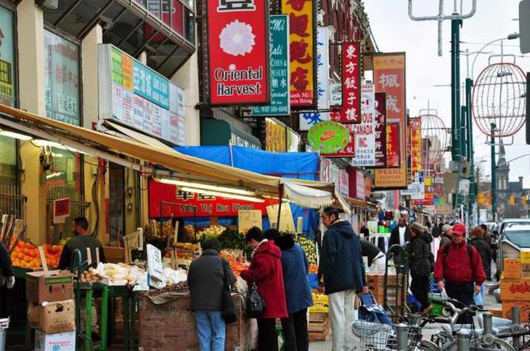 Chinatown along Spadina Avenue
