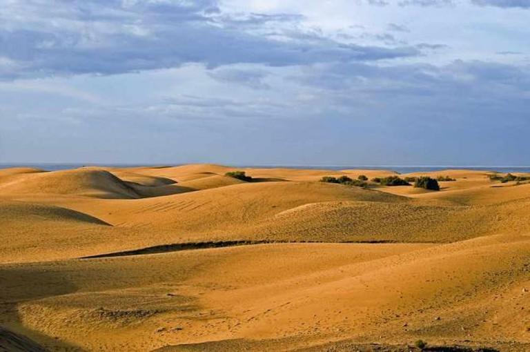 Maspalomas Dunes by Guido Haeger/WikiCommons