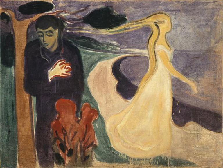 A Separation, Edvard Munch | © Google Art Project