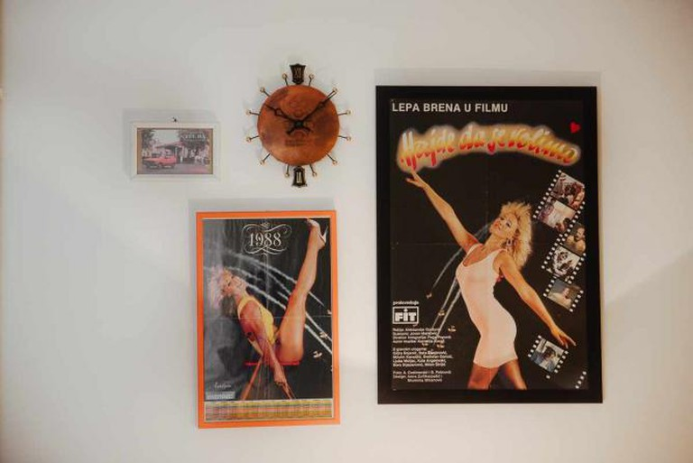 Lepa Brena, music star of 1980s Yugoslavia © Monika Pavlović/Interior design: Mario Milaković