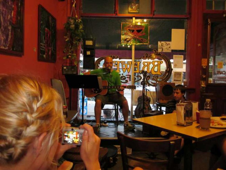 Live music at Brewed Cafe